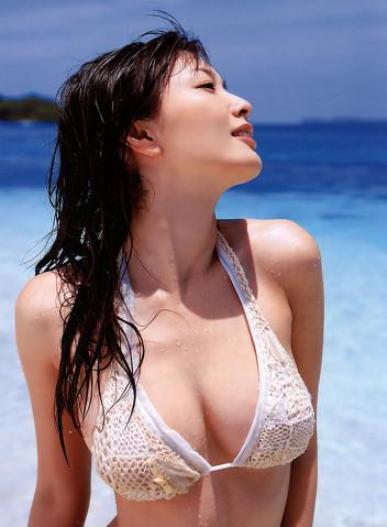 【おっぱい】水着を着た、可愛くてエロい女の子のおっぱい画像がエロすぎる!【30枚】 23