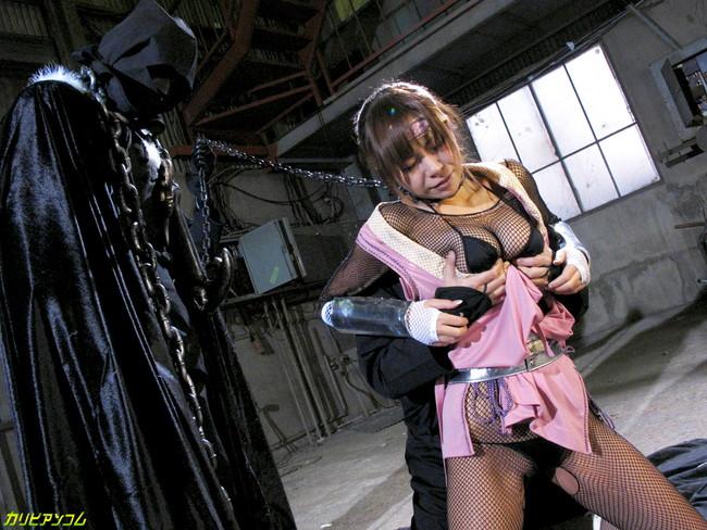 【おっぱい】女忍者のくノ一の隠れていないエロすぎるおっぱい画像!【30枚】 03