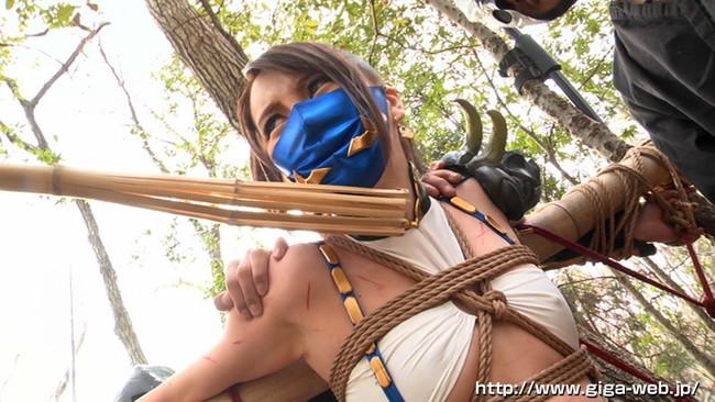 【おっぱい】女忍者のくノ一の隠れていないエロすぎるおっぱい画像!【30枚】 10
