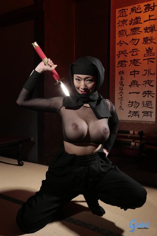 【おっぱい】女忍者のくノ一の隠れていないエロすぎるおっぱい画像!【30枚】 22