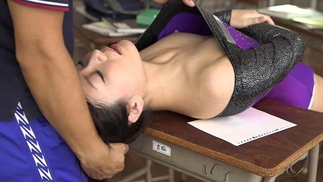 【おっぱい】レオタードで身を包む女の子のおっぱいがエロすぎる画像!【30枚】 20