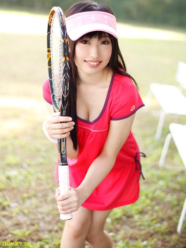 【おっぱい】運動、アウトドアスポーツ大好き!スポーツ女子のおっぱいがエロすぎる画像!【30枚】 04