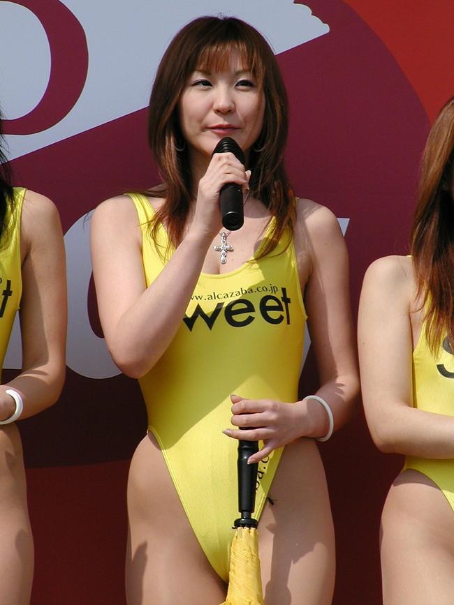 【おっぱい】体型がスレンダー!ハイレグ水着がとても似合っているような女の子のおっぱい画像がエロすぎる!【30枚】 03