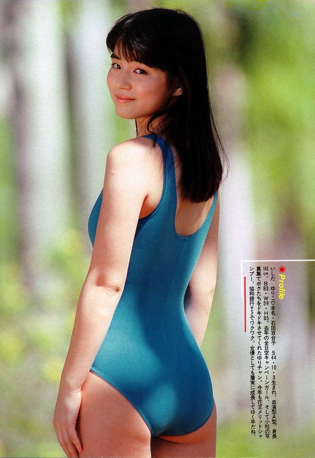 【おっぱい】体型がスレンダー!ハイレグ水着がとても似合っているような女の子のおっぱい画像がエロすぎる!【30枚】 06