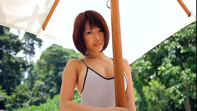 【おっぱい】ものすごく可愛くて、おっぱいも大きい大注目なグラドル・倉田夏希ちゃんのおっぱい画像がエロすぎる!【30枚】 09