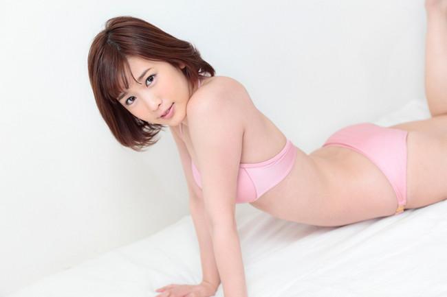 【おっぱい】大胆発言で大注目を浴びているグラビアアイドルの夏目花実ちゃんのおっぱい画像がエロすぎる!【30枚】 10