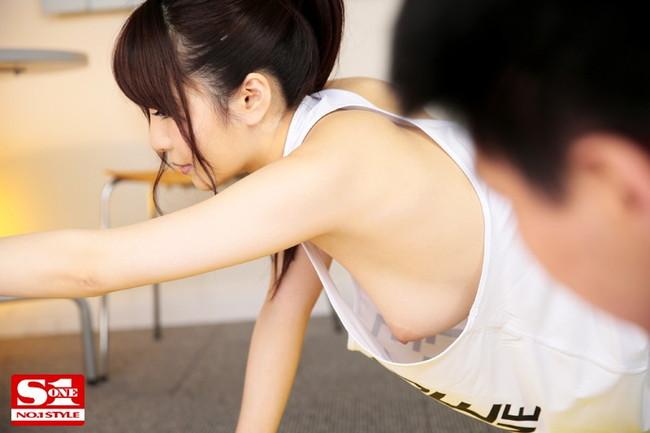 【おっぱい】Gカップの美巨乳とヤリたい!と思わしてくれるような、葵ちゃんの大きなおっぱい画像がエロすぎる!【30枚】 30