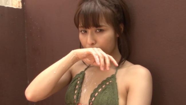 【おっぱい】いいクビレ!いいお尻!キュートな笑顔がたまらない!清純派美女、彩木里紗ちゃんのおっぱい画像がエロすぎる!【30枚】 26