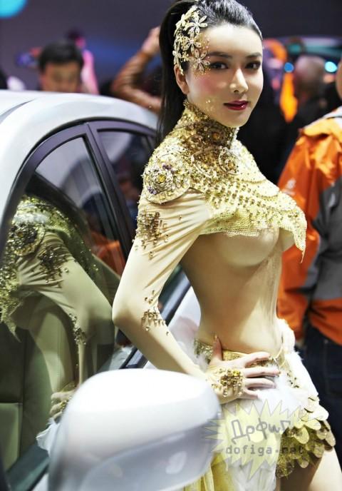 【おっぱい】中国のモデルさんやキャンペーンガールたちの過激なおっぱい画像【30枚】 30