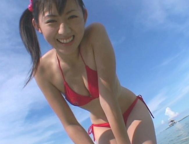 【おっぱい】第1回「ミスFLASH」グランプリ獲得!期待の美少女グラビアアイドル・稲生美紀ちゃんのおっぱい画像がエロすぎる!【30枚】 18