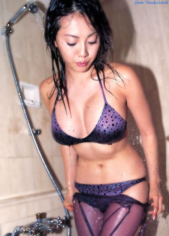 【おっぱい】美形フェイスとグラマラスボディを大胆披露したグラビアアイドル・海江田純子ちゃんのおっぱい画像がエロすぎる!【30枚】 14