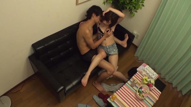 【おっぱい】お隣の美人お姉さんのプライベートを丸裸に!プライベートSEX隠し撮りされた隣の綺麗なお姉さんのおっぱい画像がエロすぎる!【30枚】 13