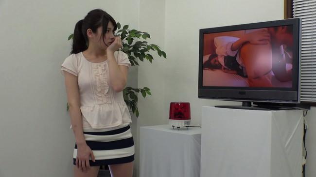 【おっぱい】スカートの中を真下から見上げられながら、Hなビデオを鑑賞してもらえませんか?街で声をかけたお嬢さんのおっぱい画像がエロすぎる!【30枚】 13
