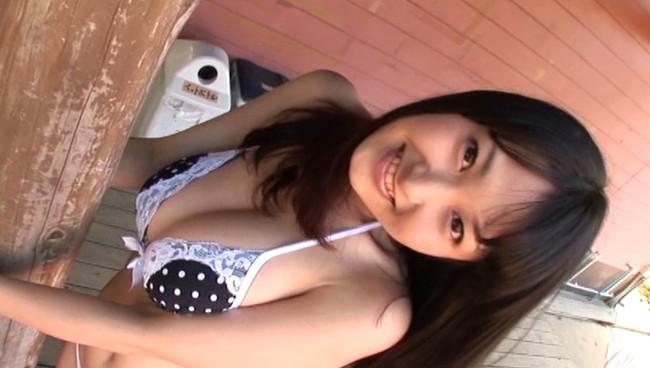 【童顔巨乳】中川朋美とかいうバストがJカップで103センチというむっちり爆乳で超小柄という童顔巨乳娘がエロ過ぎる美少女のおっぱい画像集w 13