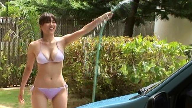 【おっぱい】Fカップというそそるプロポーションも人気の秘密!女優でグラビアアイドルの永岡真実ちゃんのおっぱい画像がエロすぎる!【30枚】