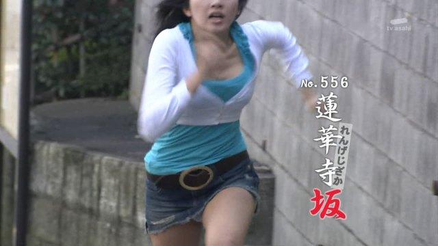【おっぱい】人気番組の全力坂に登場した女の子のおっぱい画像がエロすぎる!【30枚】 25