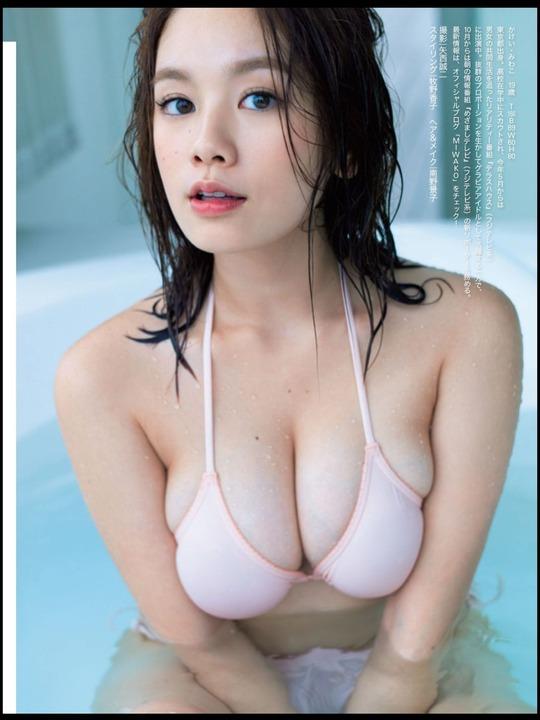 【おっぱい】テラスハウスで一躍有名になった筧美和子ちゃんのおっぱい画像がエロすぎる!【30枚】 10
