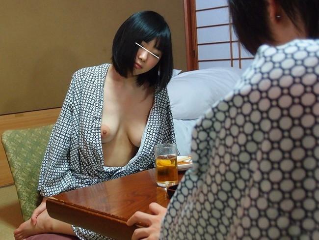 【おっぱい】浴衣を着ながらエッチなことをしちゃっている女の子のおっぱい画像がエロすぎる!【30枚】 05