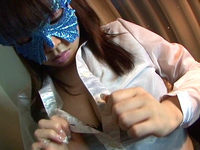 【おっぱい】自分のエロを解放する、仮面をつけた女の子のおっぱい画像がエロすぎる!【30枚】 08