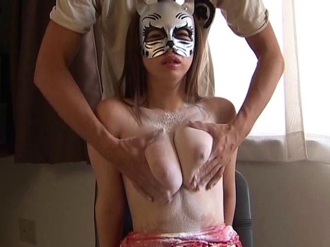 【おっぱい】自分のエロを解放する、仮面をつけた女の子のおっぱい画像がエロすぎる!【30枚】 22