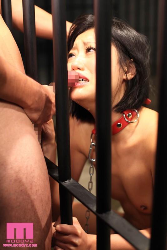 【おっぱい】檻の中で拘束されながら調教されている女性のおっぱい画像がエロすぎる!【30枚】 18