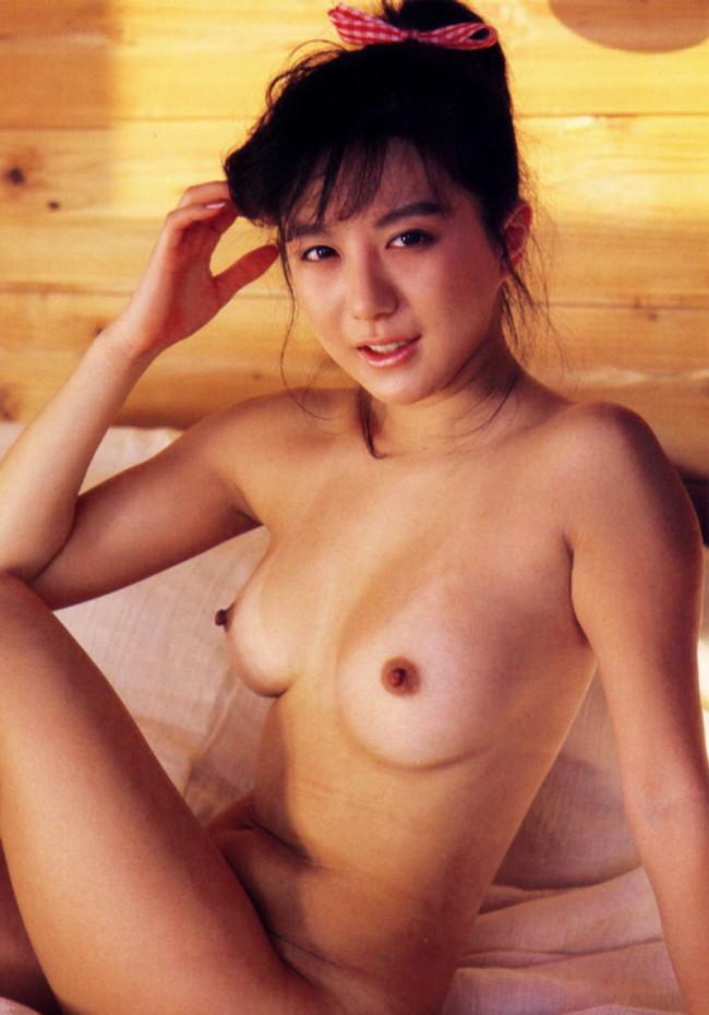 【おっぱい】昭和の時代に一世風靡したAV女優、ポルノ女優さんたちのおっぱい画像がエロすぎる!【30枚】 07