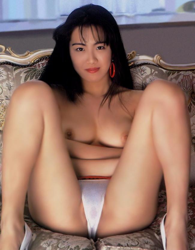 【おっぱい】昭和の時代に一世風靡したAV女優、ポルノ女優さんたちのおっぱい画像がエロすぎる!【30枚】 08