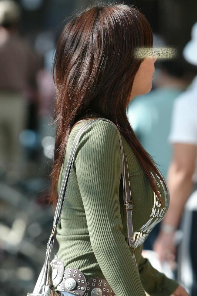 【おっぱい】あったかそうなセーターを着て、大きなおっぱいを主張してくる女の子の画像がエロすぎる!【30枚】 04