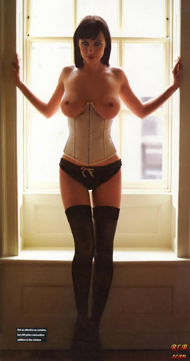 【おっぱい】くびれた腰を作りだすコルセットを装着した女の子のおっぱい画像がエロすぎる!【30枚】 05