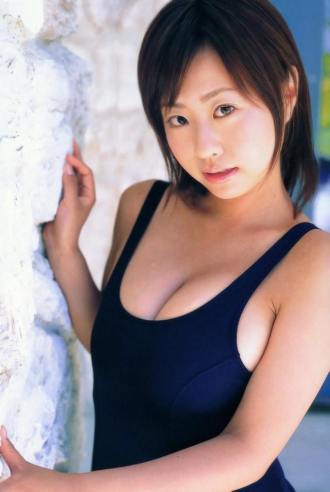 【おっぱい】スクール水着が絶妙に似合っている可愛い女の子のおっぱい画像がエロすぎる!【30枚】 05