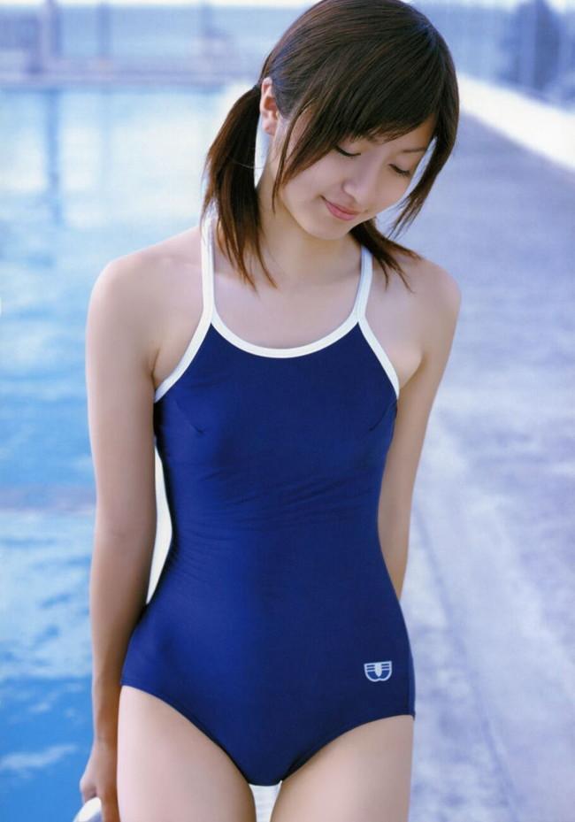 【おっぱい】スクール水着が絶妙に似合っている可愛い女の子のおっぱい画像がエロすぎる!【30枚】 19