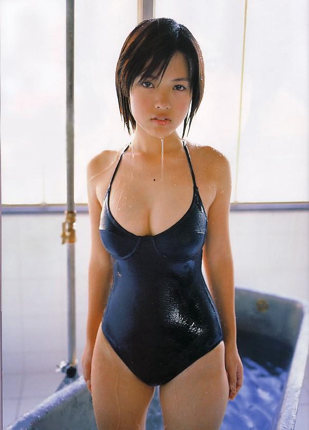 【おっぱい】スクール水着が絶妙に似合っている可愛い女の子のおっぱい画像がエロすぎる!【30枚】 29