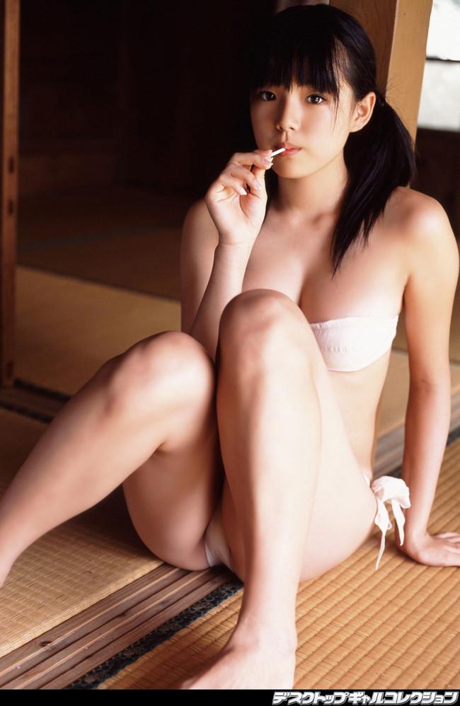【おっぱい】和室の畳の上でエッチな格好をさせられている女の子のおっぱい画像がエロすぎる!【30枚】 05