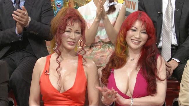 【おっぱい】豊満ナイスバディでゴージャース姉妹で有名な叶姉妹のおっぱい画像がエロすぎる!【30枚】 11