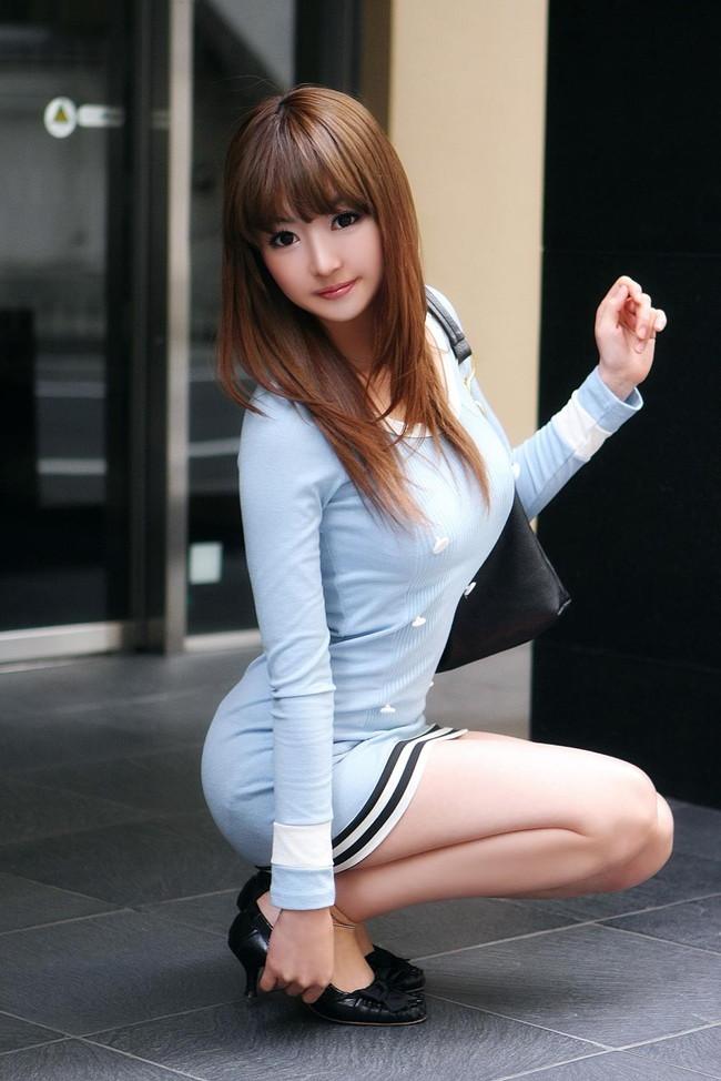 【おっぱい】セクシーなワンピースを着用している女の子のおっぱい画像がエロすぎる!【30枚】 20