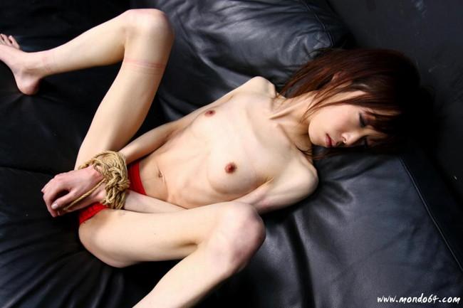 【おっぱい】ガリガリにやせているような体型の女の子のおっぱい画像がエロすぎる!【30枚】 22