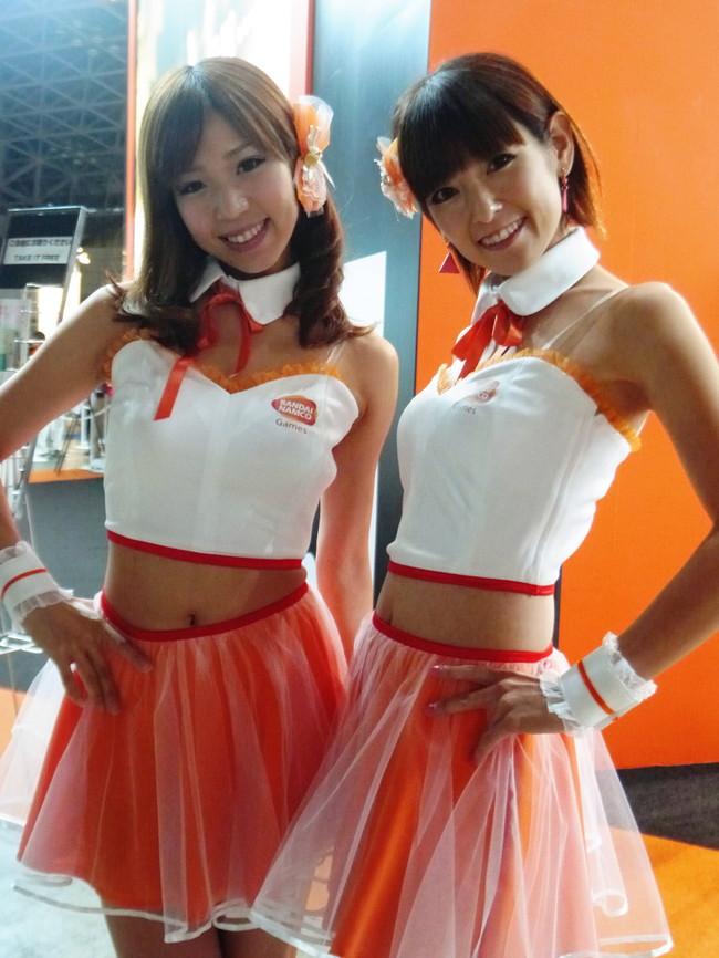 【おっぱい】東京ゲームショーで案内してくれるイベントコンパニオンの女の子のおっぱい画像がエロすぎる!【30枚】 11