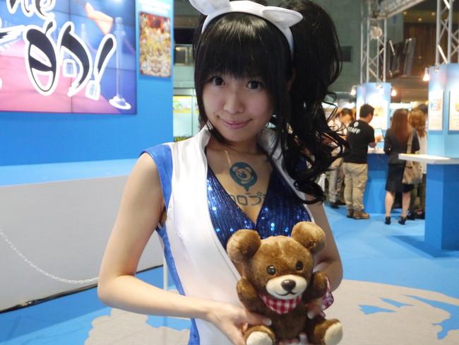 【おっぱい】東京ゲームショーで案内してくれるイベントコンパニオンの女の子のおっぱい画像がエロすぎる!【30枚】 14