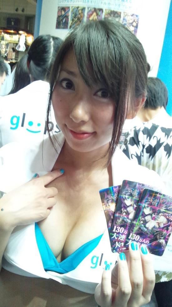 【おっぱい】東京ゲームショーで案内してくれるイベントコンパニオンの女の子のおっぱい画像がエロすぎる!【30枚】 20