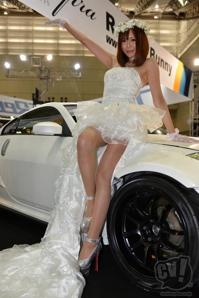 【おっぱい】東京オートサロンにいるキャンギャル、コンパニオンの女の子のおっぱい画像がエロすぎる!【30枚】 08