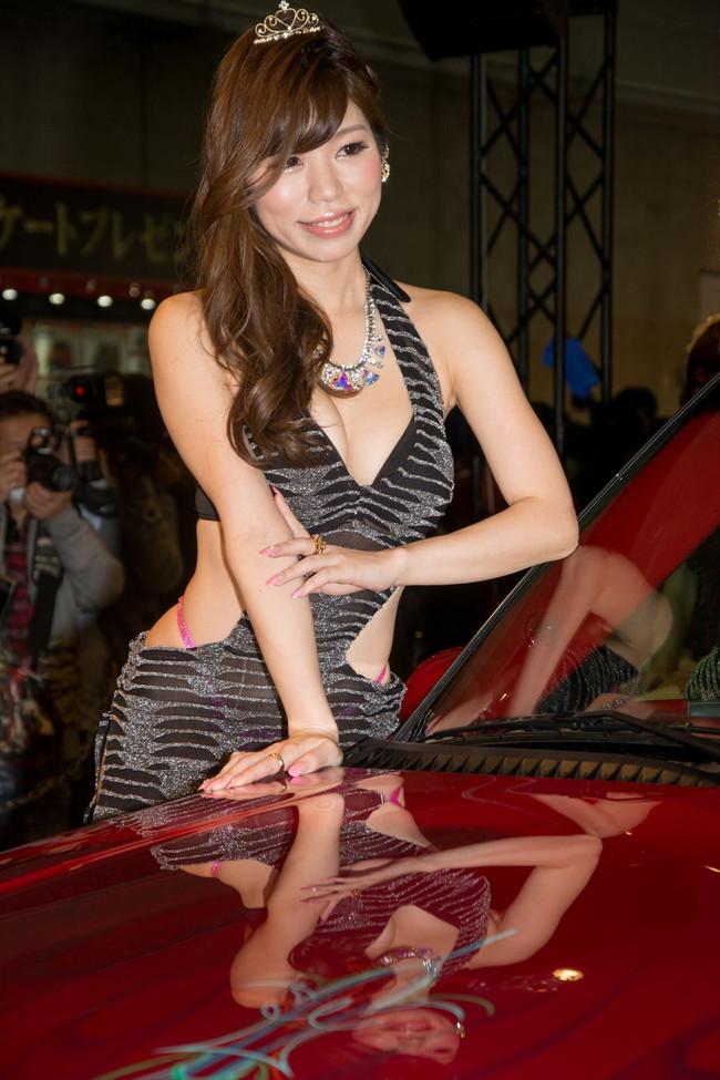 【おっぱい】東京オートサロンにいるキャンギャル、コンパニオンの女の子のおっぱい画像がエロすぎる!【30枚】 18