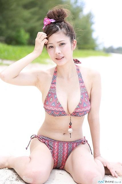 【おっぱい】プロ雀士としてもグラビアアイドルとしても大活躍な高宮まりさんのおっぱい画像がエロすぎる!【30枚】 21