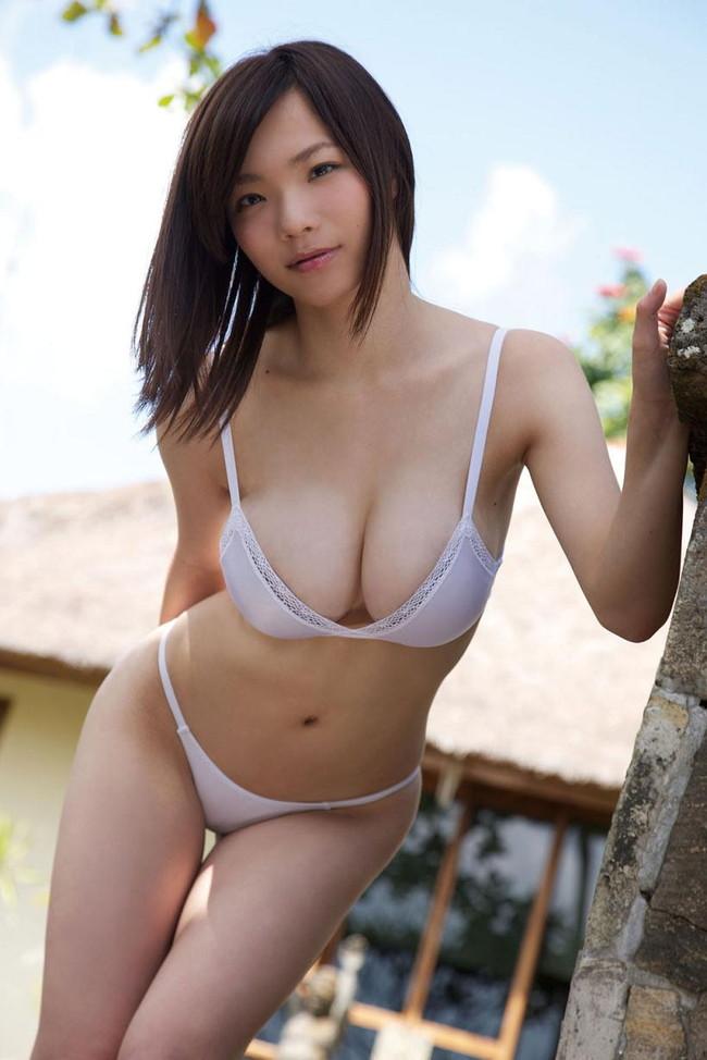 【おっぱい】Iカップを武器にグラビアアイドルをしていた鷹羽澪ちゃんのおっぱい画像がエロすぎる!【30枚】 25
