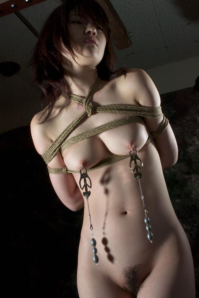 【おっぱい】緊縛プレイは芸術作品?!縄で縛られている女性のおっぱい画像がエロすぎる!【30枚】