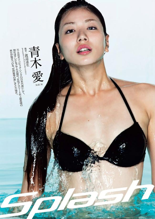 【おっぱい】元シンクロ選手でテレビやグラビアで大活躍の青木愛さんの画像がエロすぎる!【30枚】 09