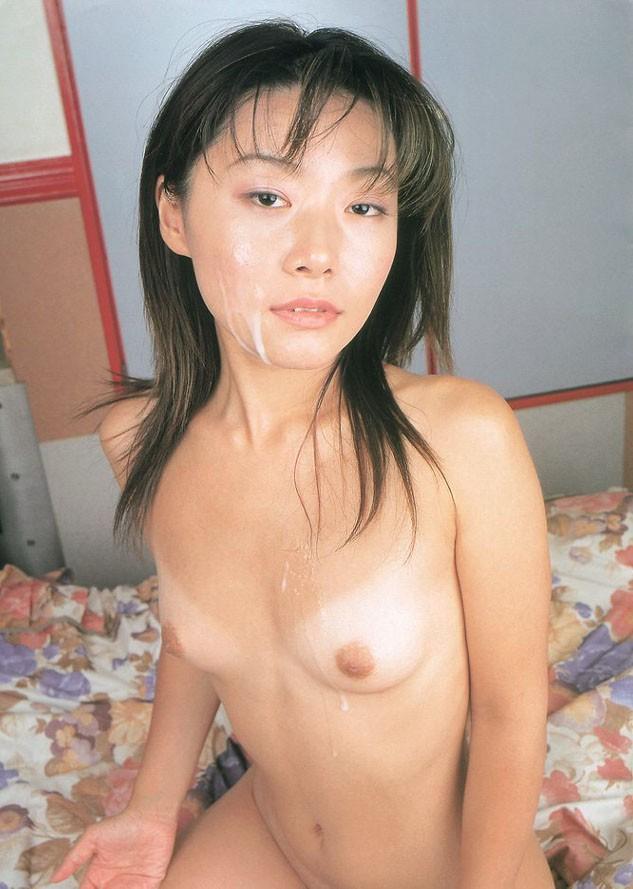 【おっぱい】綺麗な顔にたっぷりと顔射されて汚されちゃった女の子のおっぱい画像がエロすぎる!【30枚】 11