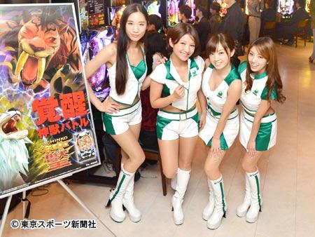 【おっぱい】パチンコイベントを盛り上げてくれるコンパニオンの女の子たちのおっぱい画像がエロすぎる!【30枚】 29