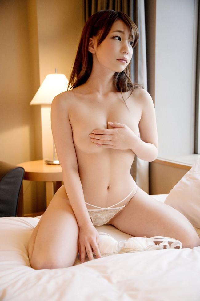 【おっぱい】綺麗で色白!綺麗なおっぱいの持ち主の長谷川るいちゃんのおっぱい画像がエロすぎる!【30枚】 15