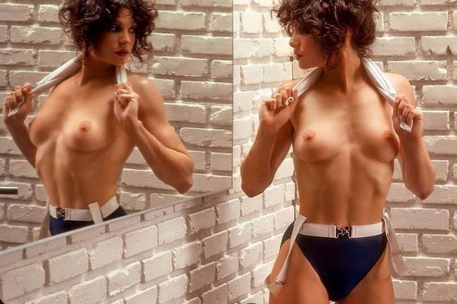 【おっぱい】マッスルボディを手に入れて筋肉隆々なボディビルダーな女性のおっぱい画像がエロすぎる!【30枚】 15