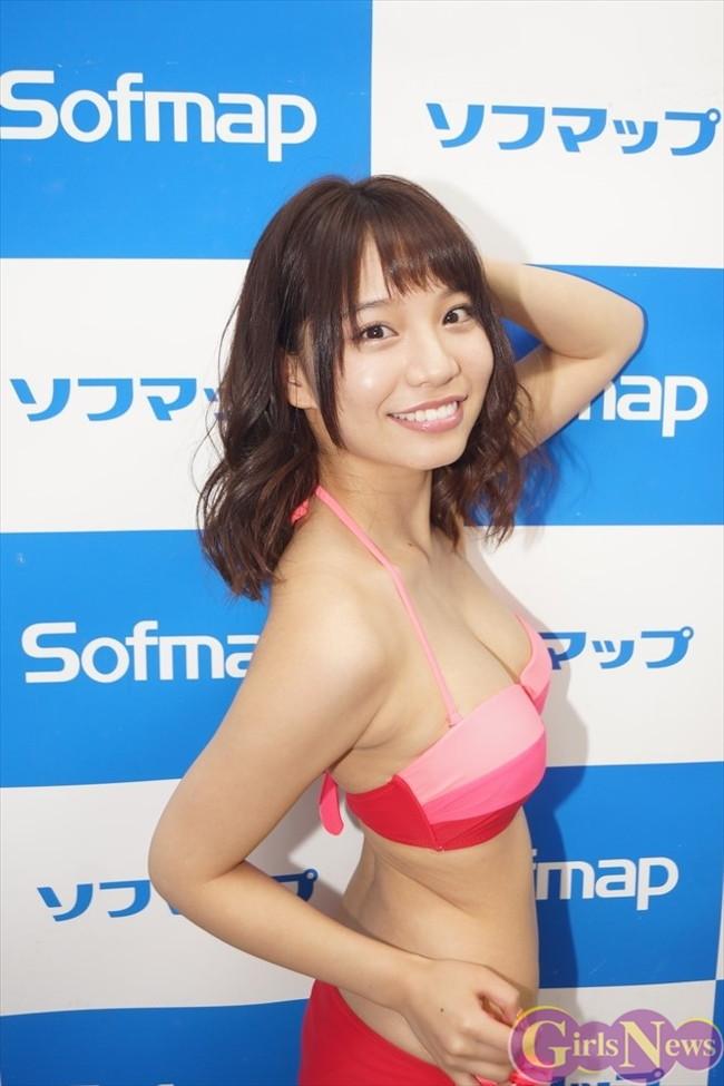 【おっぱい】ダンスユニットに所属しているFカップ巨乳グラビアアイドルの久松かおりちゃんのおっぱい画像がエロすぎる!【30枚】 06